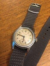 Mens Vintage WW2 era Military style Superva Watch - 15 Jewels Swiss
