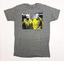 Breaking Bad - Heisenberg & Jesse - Men's Small Grey T-Shirt Graphic Tee