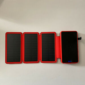 20000mAh Wireless Battery Solar Panel Charger Model YD-820W  Soluser