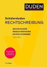 Schülerduden Rechtschreibung und Wortkunde (kartoniert) von Dudenredaktion (2018, Taschenbuch)