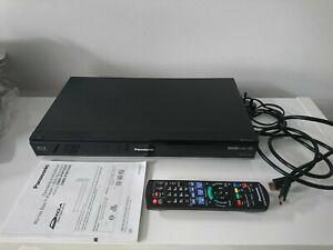 Panasonic DMR-PWT530EB 500GB HDD Freeview HD 3D Blu-ray Player Recorder VGC