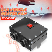 12V 600W 2 Fans Car Auto Heater Portable Defroster Warmer Winshield Demister