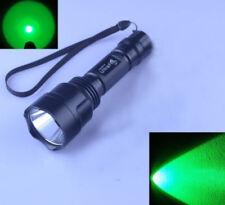Ultra Fire C8 CREE XPE R5 Green LED 1 Mode 18650/CR123A Hunting Flashlight Torch