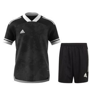 Adidas Football Soccer Kids Boys Training Kit/Set SS Jersey/Shirt Shorts