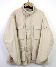 Wellensteyn Mens Belfort Beige Cream Outdoor Coat Great Condition Beautiful - XL
