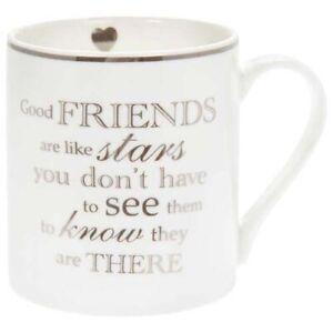 Fine China Mug - Friends are like stars.......       -  5010792339962