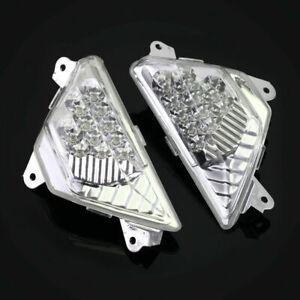 Front LED Turn Signals Light For KAWASAKI ZX-6R Ninja NINJA 250/300/400/650/1000
