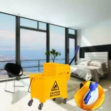 5 Gallon Commercial Bucket Wringer 20l Mop Bucket Yellow Commercial Combo