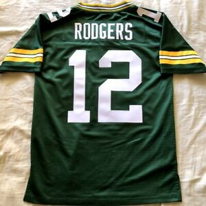 Aaron Rodgers Packers authentic Pro Line stitched boys womens youth LARGE jersey