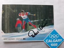 Kiem  Werner    ITA  OLYMPIADRITTER 1988  im  Biathlon  Staffel