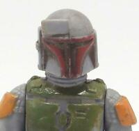 Vintage Star Wars Boba Fett Action Figure Complete w/ Weapon Mandalorian