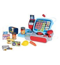 Casdon Supermarket Till Cash Register Shop Toy Role Play Pretend Kids Gift Set