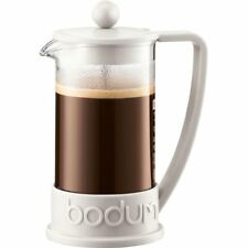 Bodum Brazil French Press Coffee Maker, 0.35-Liter, 12-Ounce, Off-White, 3-Cup