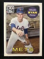 2021 Topps S1 #TDH-10 Nolan Ryan New York Mets HOF 497