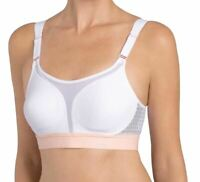 Triumph Triaction Extreme Lite N Non-wired Sports Bra White (0003) 38C CS