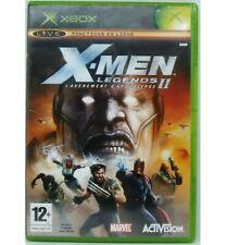 X Men Legend 2 - Rise of Apocalypse sur Xbox avec Notice