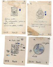 Projet original officiel d insigne Drago Ecole de détection - colonies ( 014 )