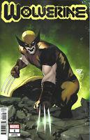 Wolverine #1  Marvel Comic Book 1:25 Silva Variant 2020 NM