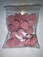 Fog Of Love Game 35 PINK PERSONALITY TOKENS ONLY Replacement Part Pieces Wooden