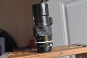 Nikon Nikkor 200mm F4 Ai lens for Nikon F2,F3,F2as,FE,FE2,FM,FM2,FG,FG2