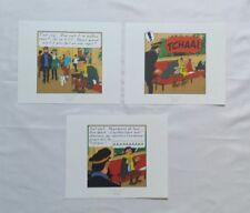 Lot 3 Ex libris Tintin Vol 714 pour Sydney / HERGE MOULINSART 2011 / BD