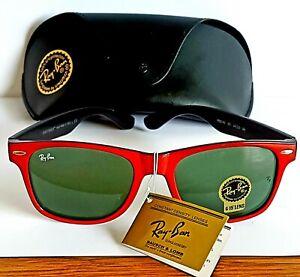 Ray Ban Original Wayfarer Sunglasses RB2140  901 54:22  New with Tags