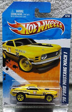 Hot Wheels HW Main Street '11 1970 FORD MUSTANG MACH 1 Die-Cast Car by Mattel