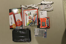 Nintendo 3DS XL Red  With MarioKart7 Carry Case, Chargers & Stylus