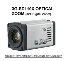 3G HD-SDI Optical 10x Zoom Camera, 1080i 60/59.94, 1080p 60/59.94/29.97
