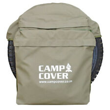 Camp Cover Spare Wheel Rubbish Bag - Khaki Ripstop - Standard - CCM014-B