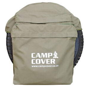 Camp Cover Spare Wheel Rubbish Bag - Khaki Ripstop - Standard - CCM014-B