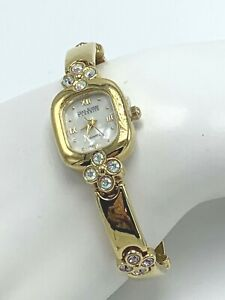 Joan Rivers Classic Womens Quartz Watch with Crystal Accents