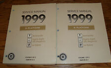 1999 Bonneville Eighty Eight LSS Regency LeSabre Shop Service Manual Vol 1 2 Set