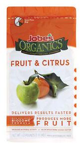 Jobe's  Organics  Fertilizer  For Fruit & Citrus Trees 4 lb.