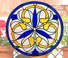 VICTORIAN WINDOW CLING STAINED GLASS EFFECT DECORATION DECAL SUN CATCHER  DOOR