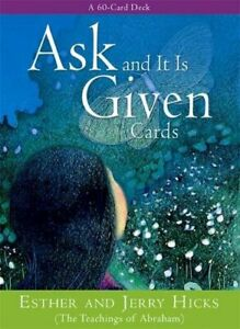 Ask And It Is Given Cards by Hicks, Jerry Cards Book The Cheap Fast Free Post