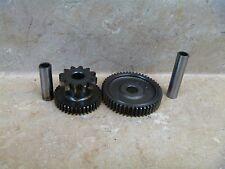 Honda 500 VT SHADOW VT500 Used Engine Starter Motor Gears 1984 HB75