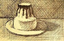 GIORGIO MORANDI-Main Signé Lithographie