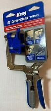 Kreg KHCCC 90-degree Corner Clamp with Automaxx NEW with tag