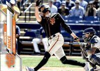 2020 Topps Update Hunter Pence Base #129 - San Francisco Giants