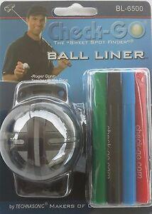 Check Go Replacement Pens 4 Color Pen Set Check-Go & CheckGo Pro Golf Ball Liner