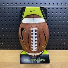 Nike Vapor One Official High School Football Game Ball Size 9 NFHS Ft0311 226