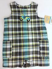 NEW Carters Boy's One Piece PlayWear Size: 6 M Months- Everyday Easy Plaid