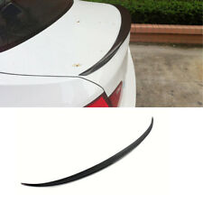 Car Trunk Boot Roof Spoiler Wing For BMW F10 520i 535i 550i M5 Carbon Fiber