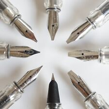 JINHAO 599C 0.38/0.5/0.7/1.1/1.5/1.9/2.5/2.9mm Nib Fountain Pen Italic Stub - UK