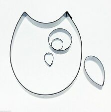 Kit Box Owl Cutter Set for sugarcraft Cake Decorating FAST NEXT DAY DESPATCH