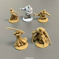 5X Zombicide Black Plague Miniatures Reaper Kickstarter Exclusive Board Game Toy