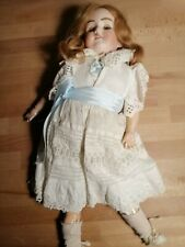 "Beautiful Vintage Complete Armand Marseille 18"" 390 A-4-M Bisque- Head Wood Doll"