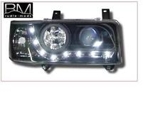 VW Transporter T4 Short-nose Black R8 DRL Headlights LED strip 1 Pair