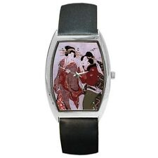 Geisha Japanese Women Japan Art Wrist Watch